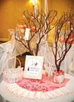 arbre à voeux baby shower