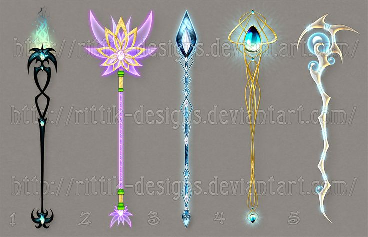 Staff designs 26 by Rittik-Designs on deviantART