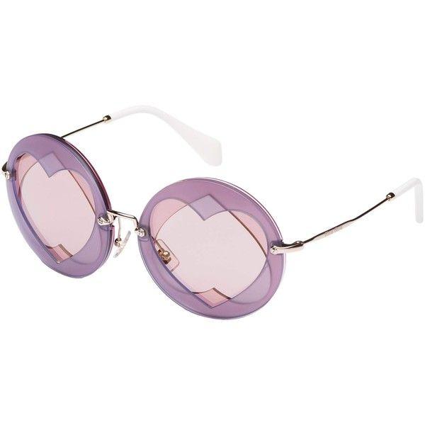 Miu Miu Purple Sunglasses