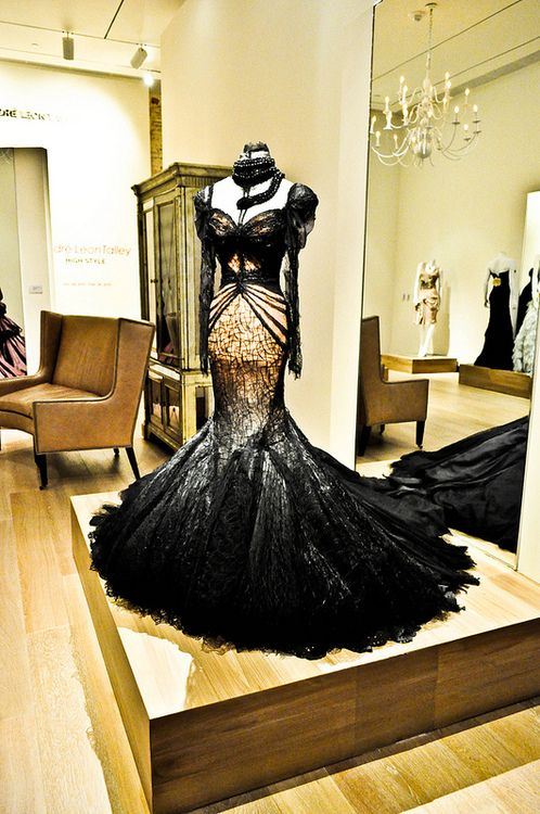 The Look: Zac Posen dress at the Alexander McQueen : Savage Beauty