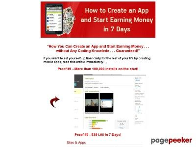 """eBook """"How to Create an App and Start Earning Money in 7 Days"""""""