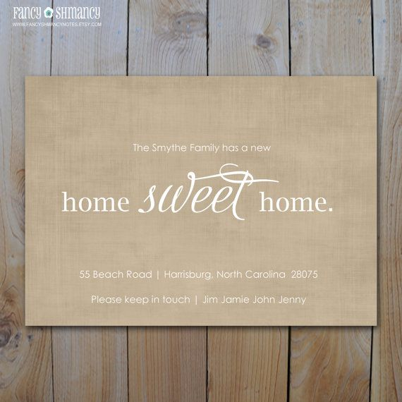 Hey, I found this really awesome Etsy listing at https://www.etsy.com/listing/105785794/moving-announcement-new-home-sweet-home