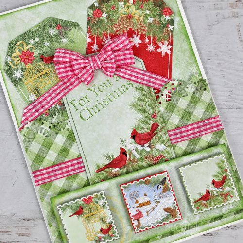 Postage For Christmas Cards 2020 Papercrafting Tutorial   Christmas Postage in 2020 | Christmas