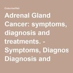 Adrenal Gland Cancer: symptoms, diagnosis and treatments. - Symptoms, Diagnosis and Treatments