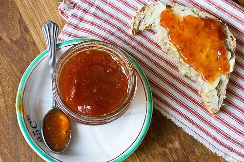 Tomato Jam - been looking for a recipe like this.  My grandma always made tomato preserves!