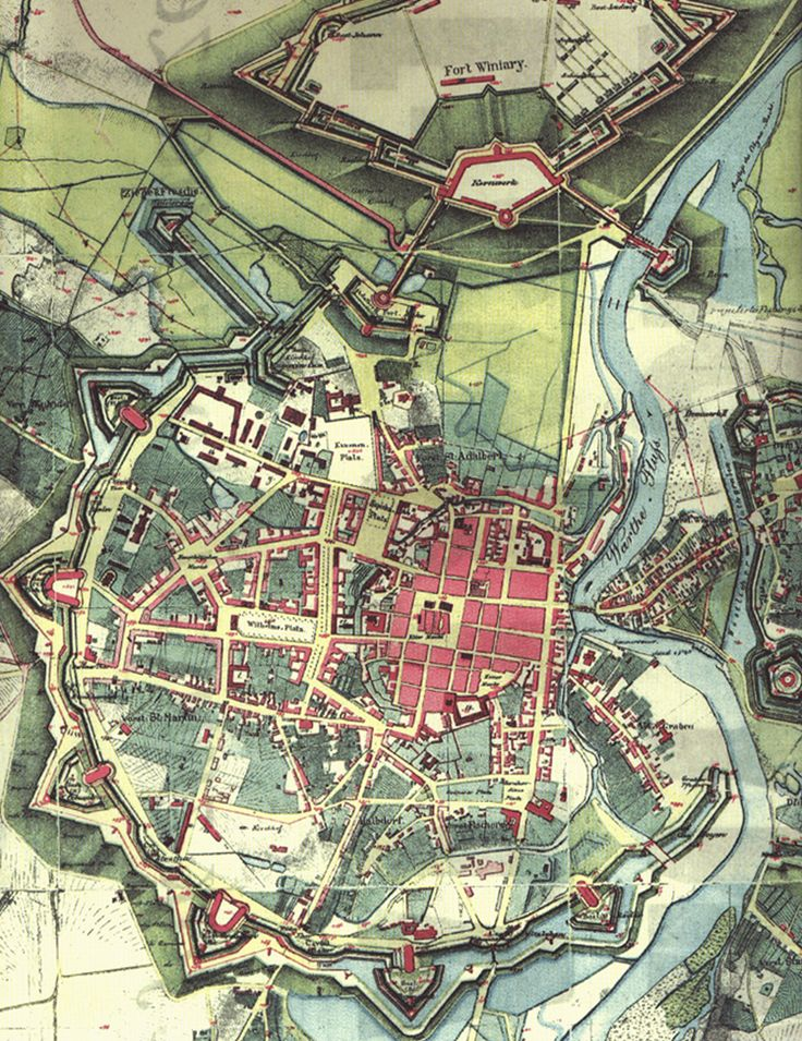Plany miasta   Poznań, Moje Miasto