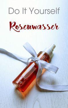 Rosenwasser ist vielseitig anwendbar und sooo einfach selbst gemacht…