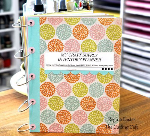 Planner for organizing craft supplies