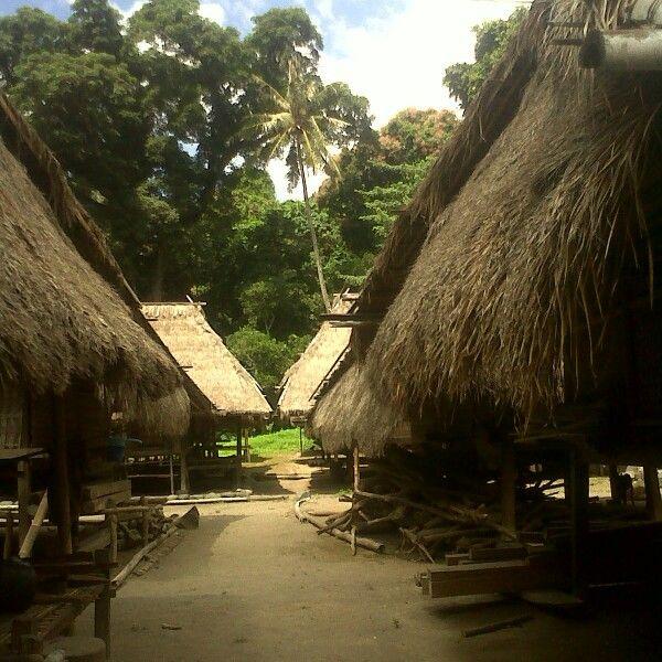 Tradisional sasak house lombok indonesia [sasak village]