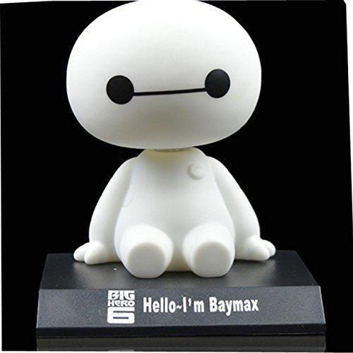 DANUC 2015 New Pop Big Hero 6 Baymax Cute Cartoon Bobblehead Doll Toy Car Accessories/Dashboard Bobblehead for Car/ Interior Decoration Bobble Head Toy Kid's Gift by DANUC