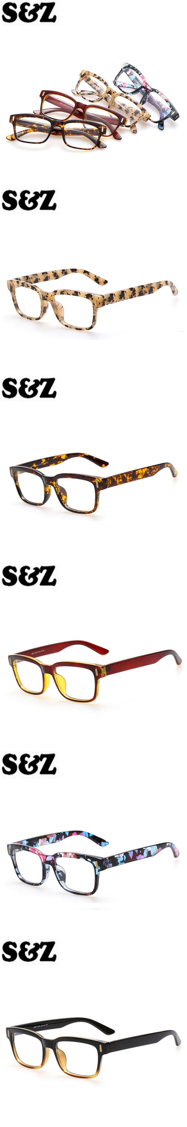 Optical Eyewear Frame for Men Women Glasses Frames Clear Fake Glasses Square Eye glasses Mirror Retro Fashion Eyewear Frame