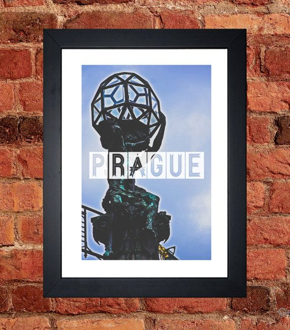 Prague Statue Print - Digital download.