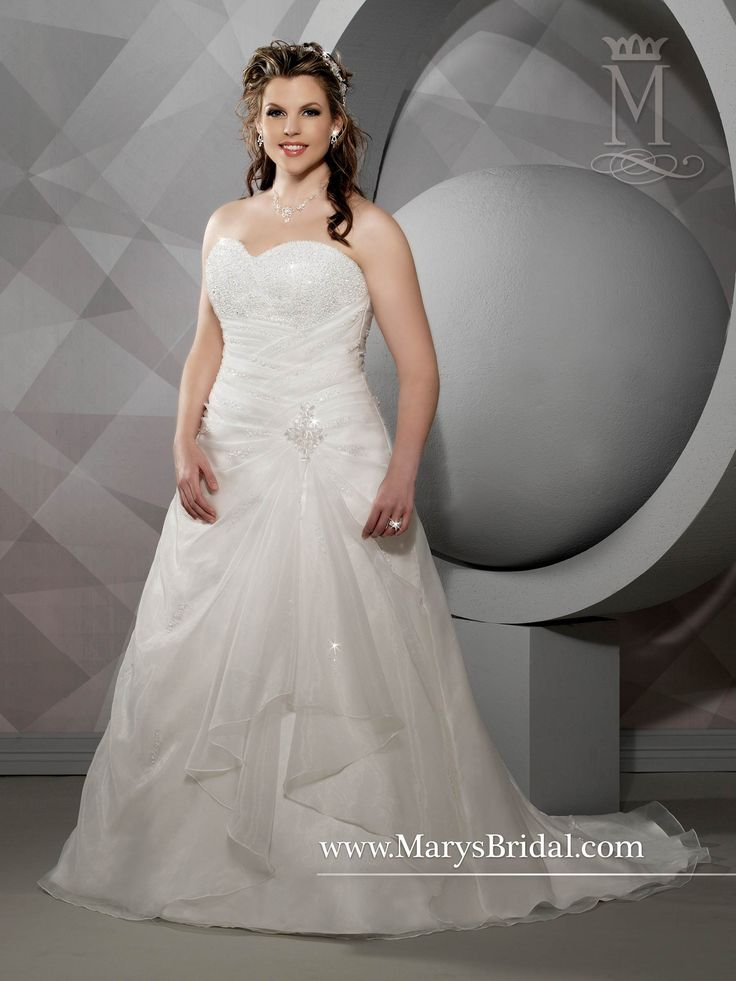 Wedding Gowns For Short Curvy Brides : Bridal gowns fairy tale princess style by mary s