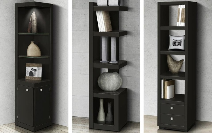 148 best libreros images on pinterest bookcases home - Libreros de madera modernos ...