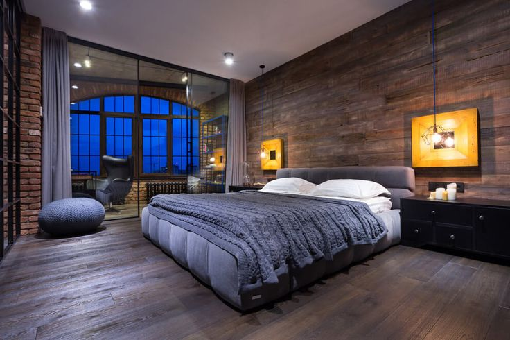Bachelor pad bedroom design