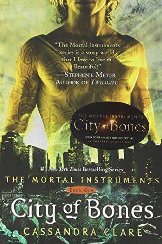 The Mortal Instruments: City of Bones; City of Ashes; City of Glass; City of Fallen Angels; City of Lost Souls