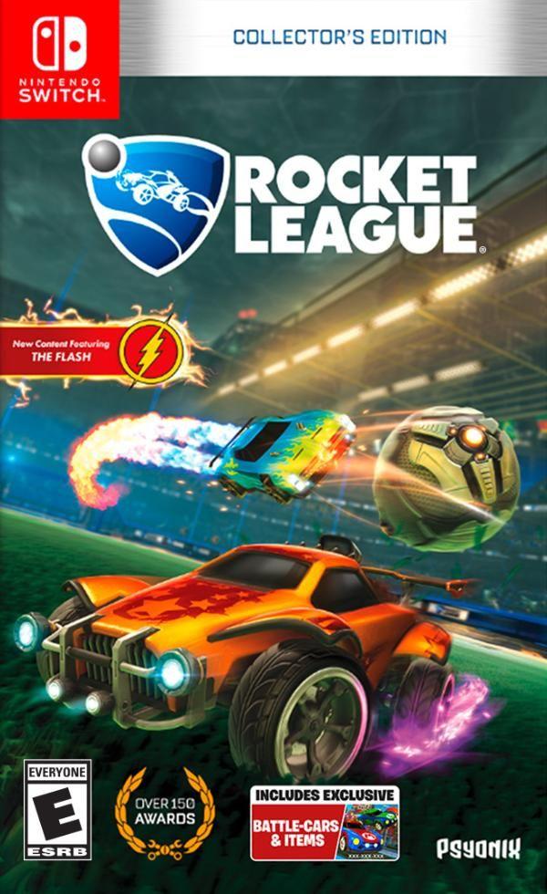 Juego Swtitch Rocket League Consolas Y Videojuegos Famosos
