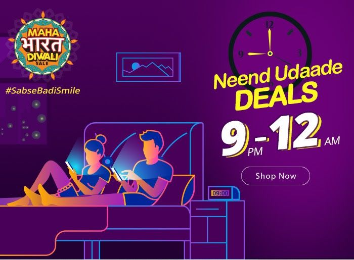 Neend Udd Jaegi! Deals from 9PM to 12AM  Rush! Maha Bharat Diwali Sale !  Iss Diwali #SabseBadiSmile Aegi toh Neend Udd Jaegi! Fest  Badi Diwali pe Bada Dhamaal Sabse Bade Offers ke Saath  Smartphones    Electronics    Home    Decore    Kitchen    Fashion    Similarly  Shopclues is a fun and exciting way to discover share and shop. A social-commerce platform targeted at the intelligent people of today it has an incredible width of carefully selected merchandise enabling customers to discover…
