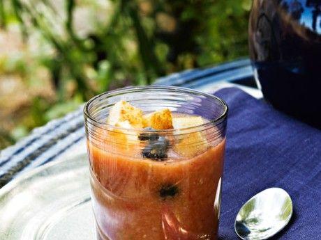 Gazpacho med blåbär - Allt om Mat