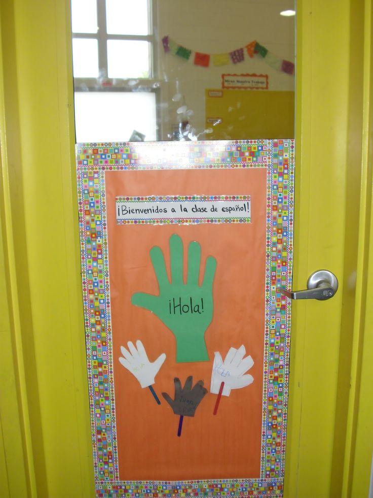Carlex Spanish Classroom Decorations : Ideas about spanish classroom door on pinterest
