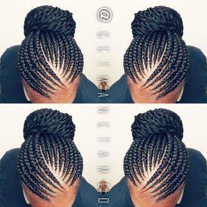 Ghana braids. Ghana cornrows. Banana cornrows. Feed in cornrows. #CornrowsGoddess