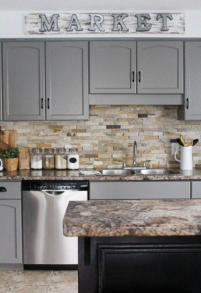 s 13 kitchen upgrades that make your home worth more, home decor, kitchen design, Repaint your kitchen cabinets