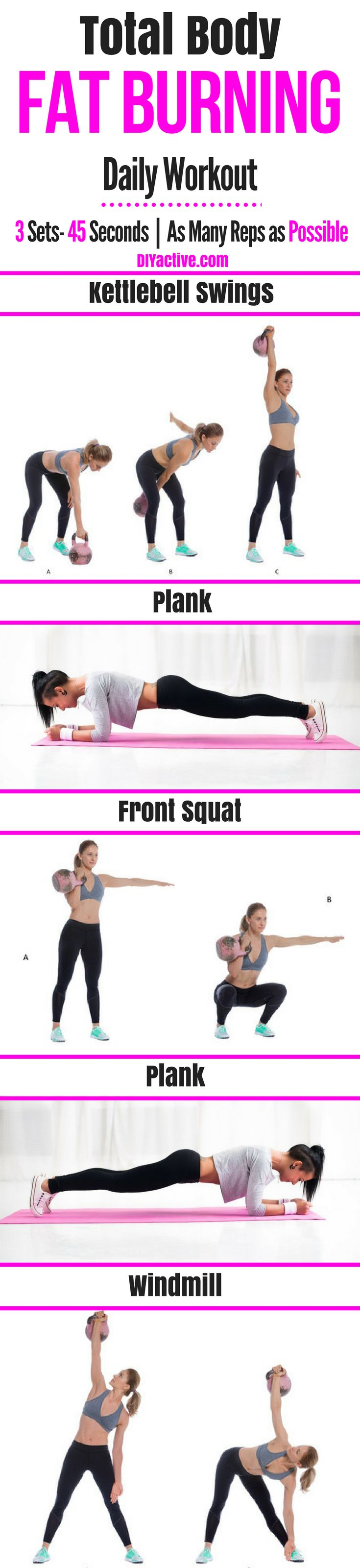 Pair this great daily workout with the great 2 week diet! #Weightloss #diet #workout