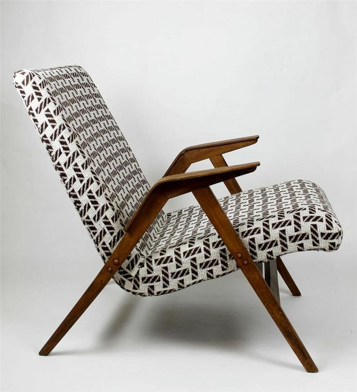 Lounge Chair reupholstered   Germany   Mid Century Modern
