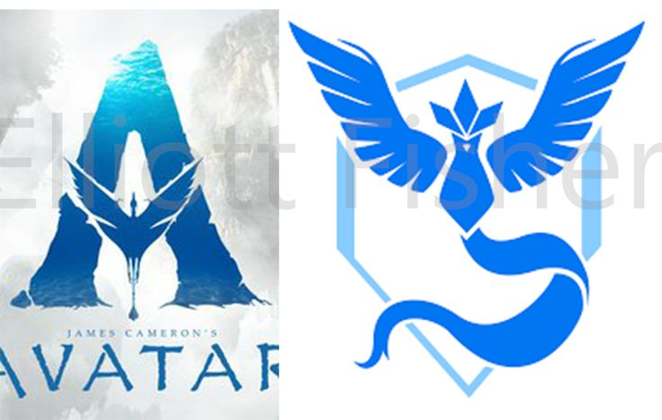 The poster for Avatar on imdb looks just like the team mystic logo