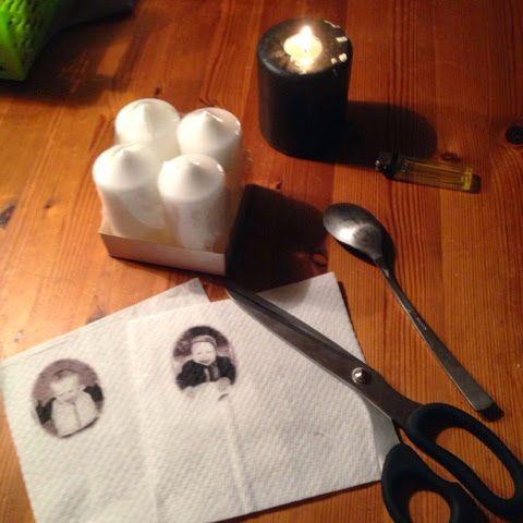 Hvordan lage lys med dine egne bilder.