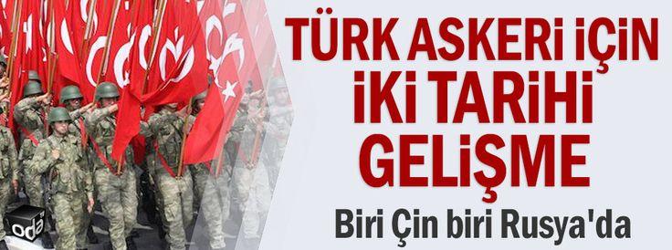 Türk askeri için iki tarihi gelişme