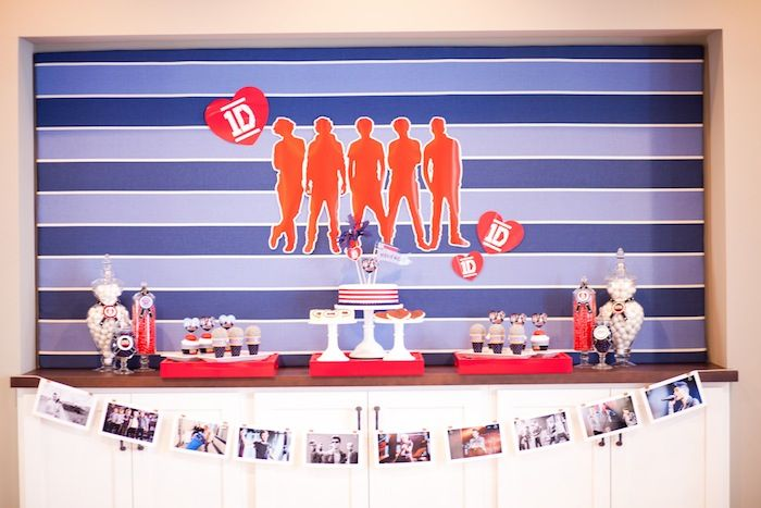 One Direction Birthday Party