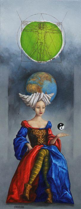 Catherine Chauloux  ~  La Dame des sphères