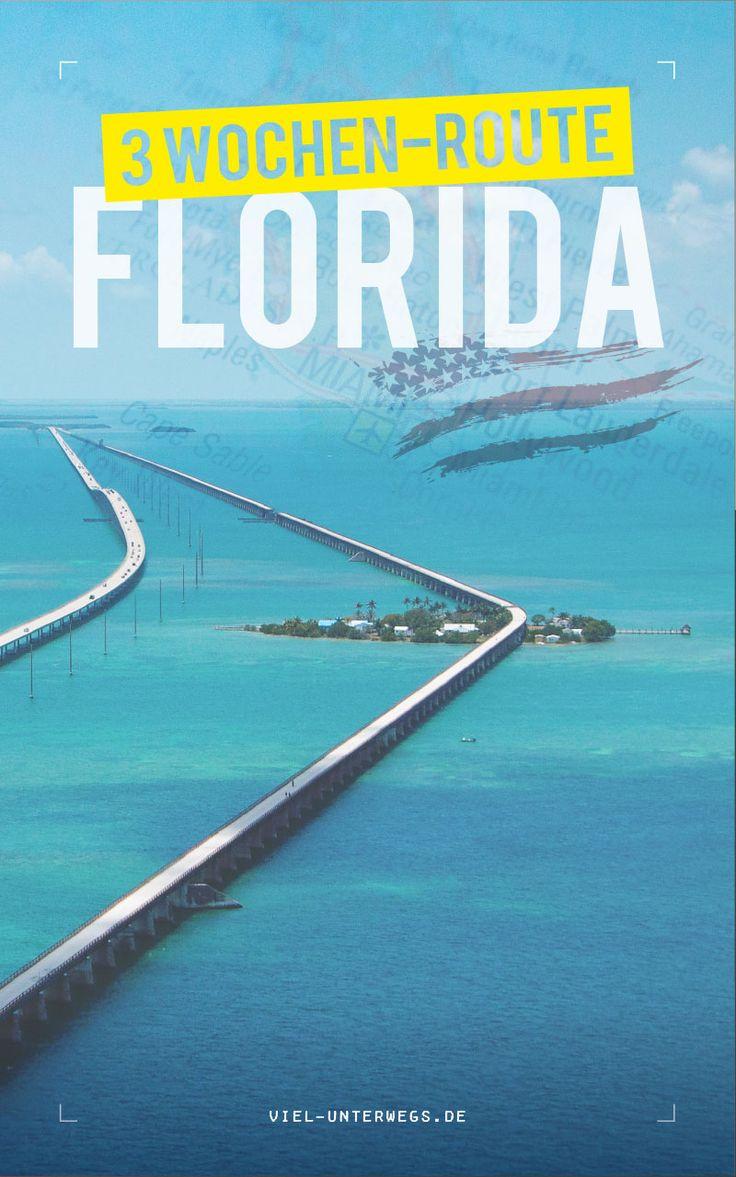 Florida Reisebericht – 2 Wochen Rundreise mit Route