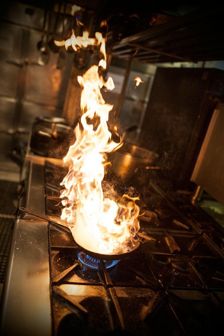 #cooking #dinner #fire #kitchen