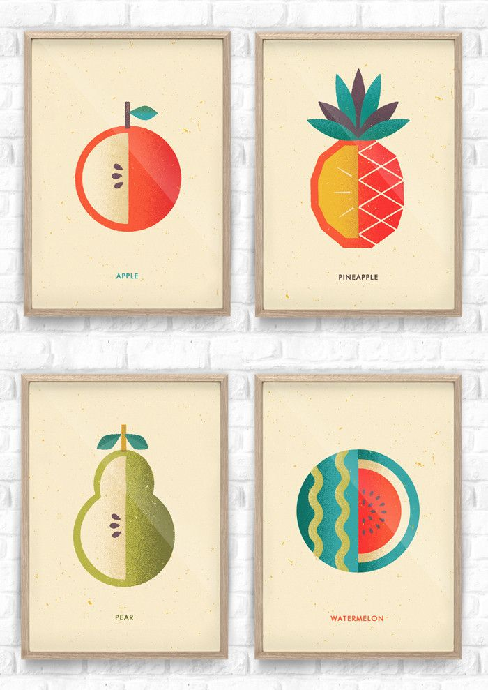 Fruit Salad Collection / Telegramme Paper