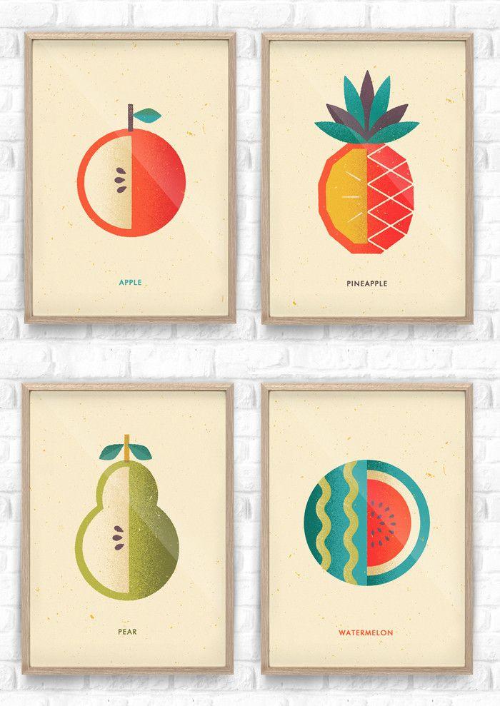 Fruit Salad Collection / Telegramme Paper