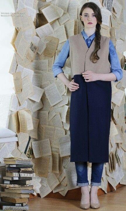 #пальто #безрукавка #жилет #studio #sleeveless coat