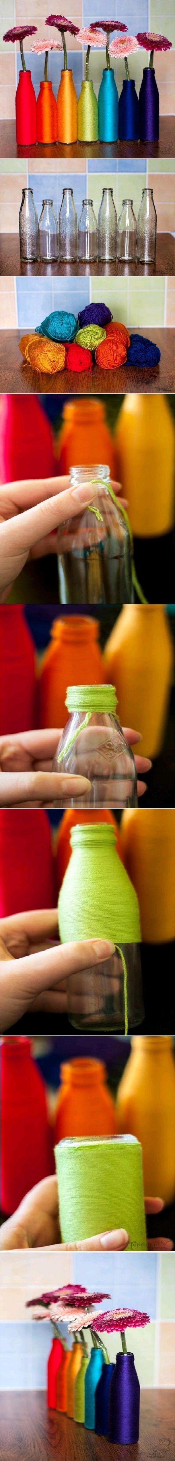 kleurtjes flessen ! Door jetb