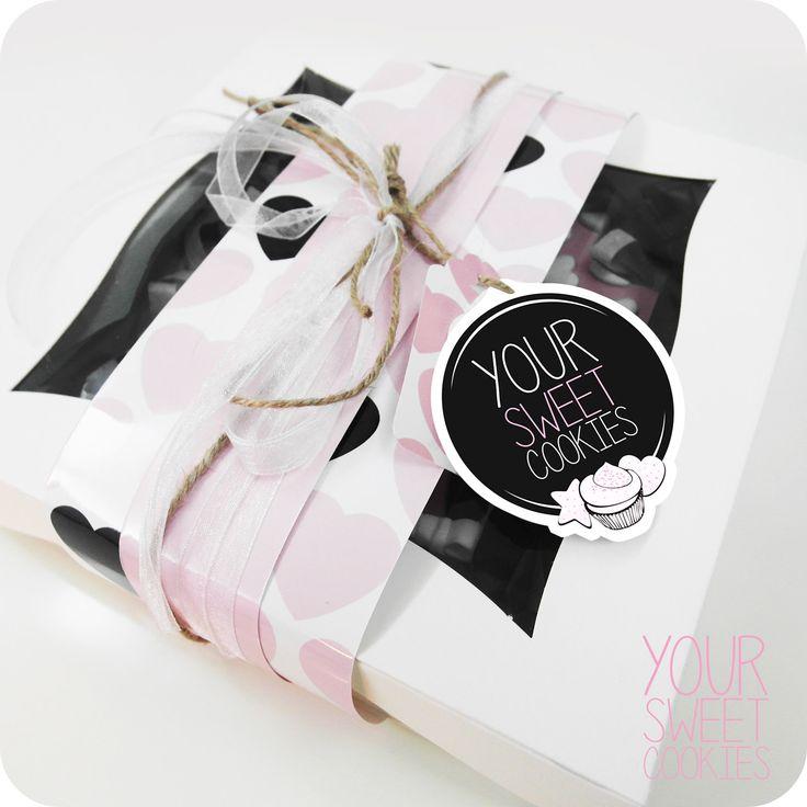 Cookies Box Design http://instagram.com/yoursweetcookiess