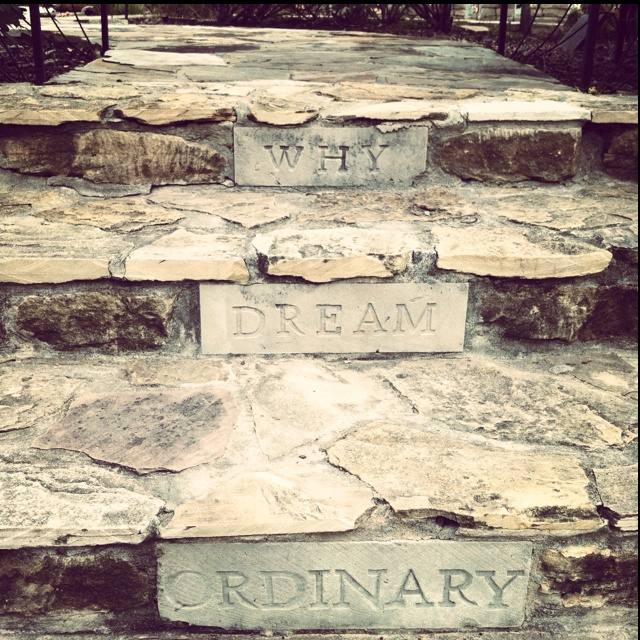 why dream ordinary? - james dick, festival hill. round top, tx.