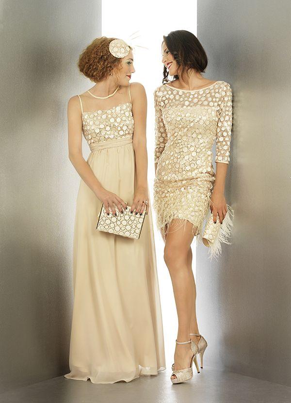 Vintange a os 20 by vestidos de fiesta by pinterest atelier - Fiesta anos 20 ...