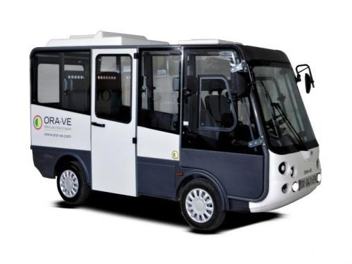 Esagono energia immatricule microbus 7 places | ORA Véhicules Électriques
