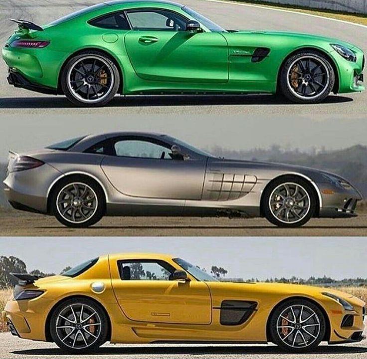 The best or nothing. AMG GTR, SLR McLaren, SLS Black Series ...