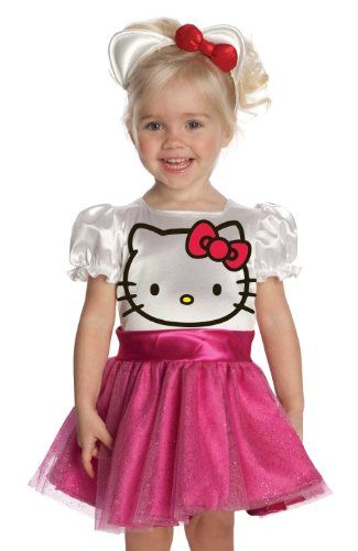 I don't actually like this costume, this is just to remind me that Katia says she wants to be Hello Kitty. I will DIY her costume, and it will be cuter :)