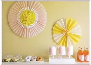 tissue paper fan-TUTORIAL--the only one I could find, but not as good as the store-bought kind.