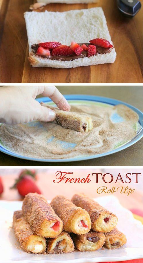 French-Toast-Rollen Mehr