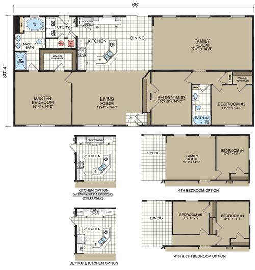 The 25 best modular floor plans ideas on pinterest for Modular homes with basement floor plans