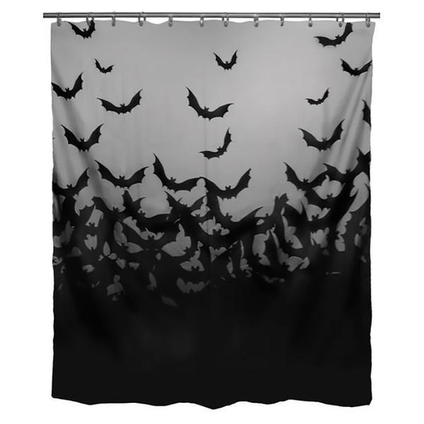 Elysian Fields Shower Curtain Halloween Shower Curtain Shower