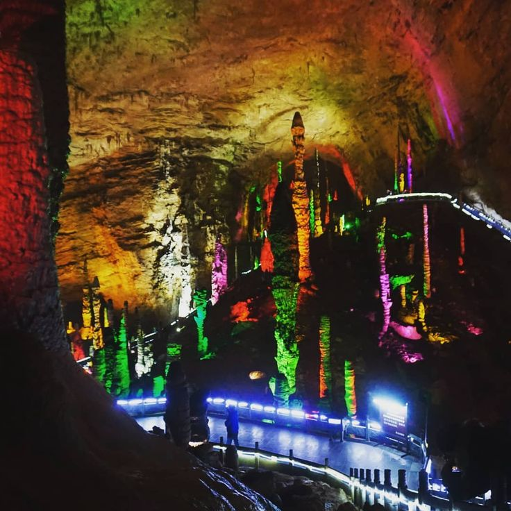 Yellow Dragon Cave Instagram post